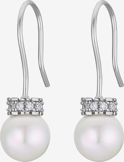 Heideman Boucles d'oreilles en argent / blanc, Vue avec produit