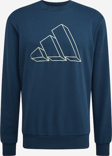 ADIDAS PERFORMANCE Športna majica | nočno modra / bela barva, Prikaz izdelka