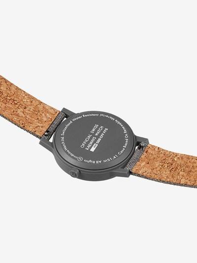 Mondaine Damen-Uhren Analog Quarz ' ' in graphit, Produktansicht