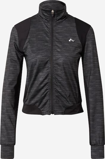 ONLY PLAY Sweatshirt in grau / schwarz, Produktansicht