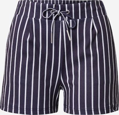 Hailys Pantalon en bleu marine / blanc, Vue avec produit