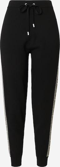 MICHAEL Michael Kors Spodnie w kolorze jasny beż / czarny / białym, Podgląd produktu