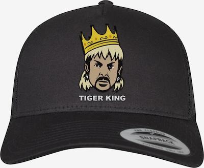 Mister Tee Pet ' Big Cats Trucker Cap ' in de kleur Zwart: Vooraanzicht