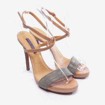 Ralph Lauren Sandals & High-Heeled Sandals in 39,5 in Brown