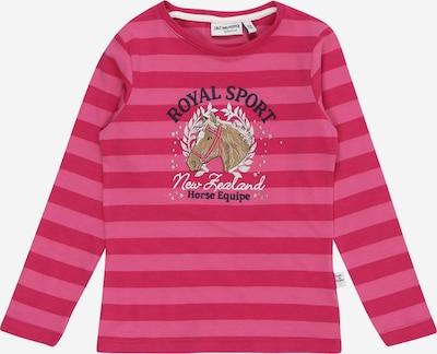SALT AND PEPPER Shirt 'Pferde' in hellbeige / dunkelblau / pink / himbeer / weiß, Produktansicht