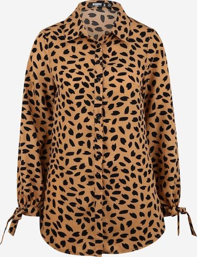 Missguided (Petite) Kleid in camel / schwarz, Produktansicht