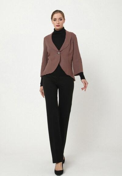 Madam-T Blazer 'BAKKARA' in braun, Modelansicht