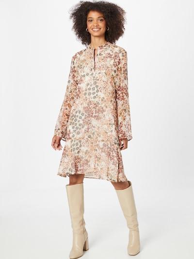 CINQUE Kleid 'DUCK' in beige / schwarz / weiß, Modelansicht