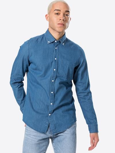 SEIDENSTICKER Koszula 'New B.D.' w kolorze niebieski denimm: Widok z przodu