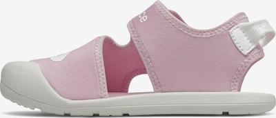 new balance Badesandale in rosa / weiß, Produktansicht