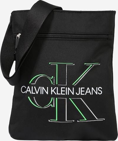 Calvin Klein Jeans Olkalaukku värissä kiivi / musta / valkoinen, Tuotenäkymä