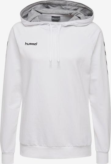 Hummel Sportsweatshirt in schwarz / weiß, Produktansicht
