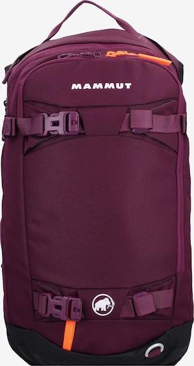 MAMMUT Sports Backpack 'Nirvana' in Purple / Orange / Black / White, Item view