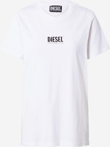DIESEL Shirt 'SILY' in White