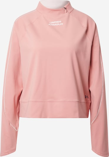 UNDER ARMOUR Performance Shirt in Dusky pink / Black / White, Item view