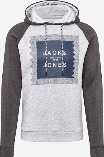tengerészkék / világosszürke / sötétszürke / fehér JACK & JONES Tréning póló 'Retail', Termék nézet