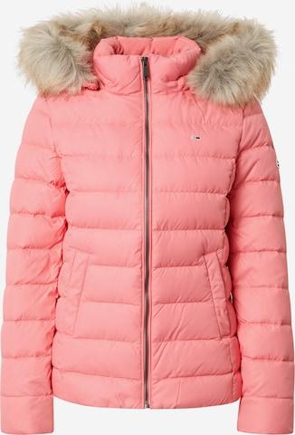 rozā Tommy Jeans Ziemas jaka