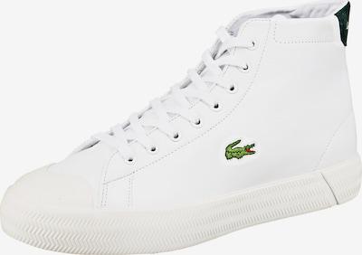 LACOSTE Baskets hautes en vert clair / blanc, Vue avec produit