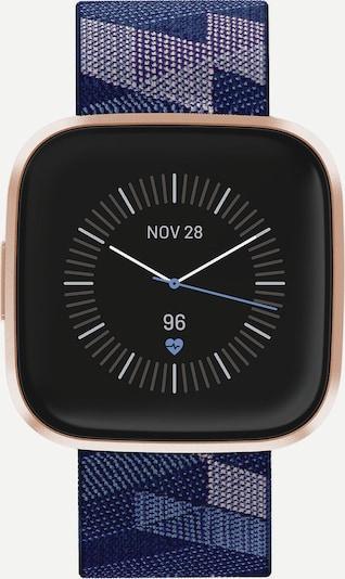 FitBit Uhr in blau / gold / schwarz, Produktansicht