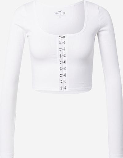 HOLLISTER Πλεκτή ζακέτα σε λευκό, Άποψη προϊόντος