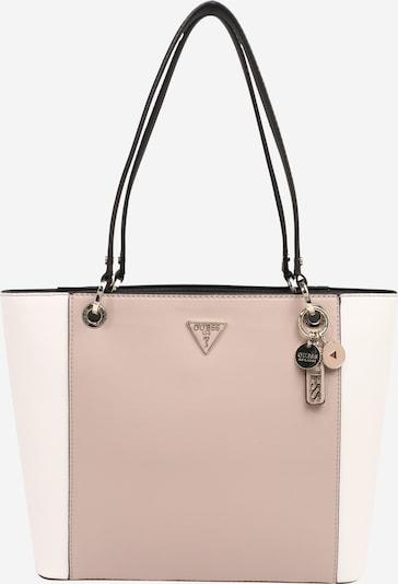 GUESS Tasche 'Noelle' in pink / weiß, Produktansicht