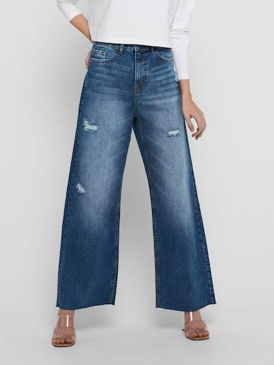 JACQUELINE de YONG Jeans 'Selma' in de kleur Blauw denim, Modelweergave