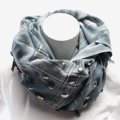 PATRIZIA PEPE Tuch in One Size in rauchblau / schwarz, Produktansicht
