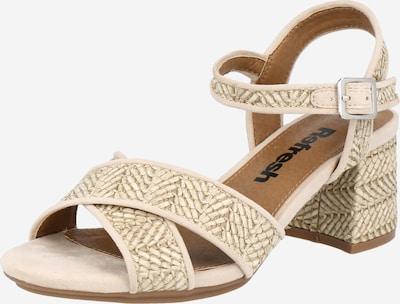 Sandalo con cinturino Refresh di colore beige, Visualizzazione prodotti