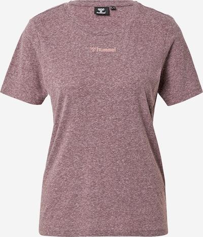 Hummel Shirt 'ZANDRA' in beere / melone, Produktansicht