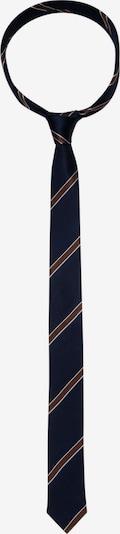SEIDENSTICKER Krawatte ' Slim ' in blau / braun, Produktansicht