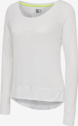 Hummel T-shirt L/S in weiß, Produktansicht