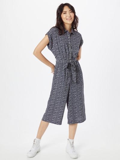 Louche Jumpsuit 'DORYAN' in de kleur Navy / Wit, Modelweergave