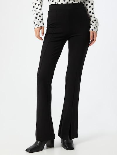 JACQUELINE de YONG Hose 'PRETTY' in schwarz, Modelansicht