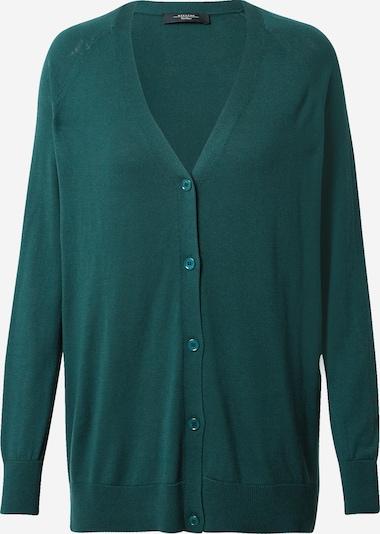 Weekend Max Mara Gebreid vest 'MIRA' in de kleur Smaragd, Productweergave