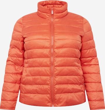 ONLY Carmakoma Overgangsjakke 'TAHOE' i rød