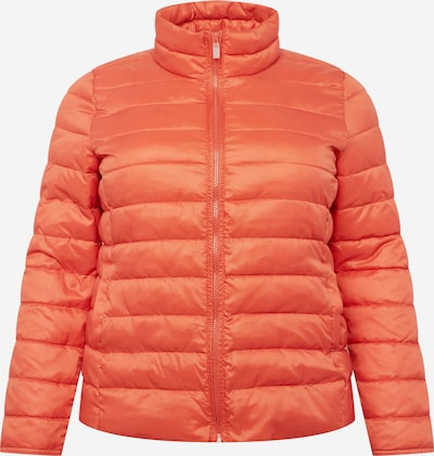 ONLY Carmakoma Jacke 'TAHOE' in orangerot, Produktansicht
