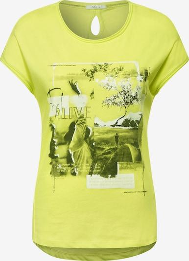 CECIL Camiseta en amarillo, Vista del producto