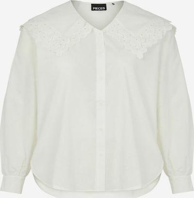 PIECES Hemd in weiß, Produktansicht