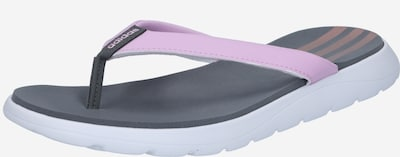 ADIDAS PERFORMANCE Cipele za plažu/kupanje 'Comfort' u antracit siva / svijetloroza, Pregled proizvoda