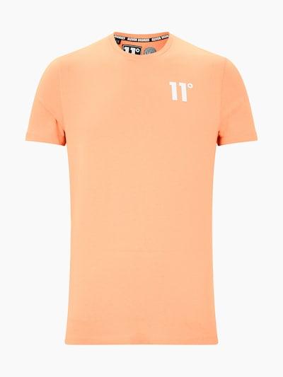 11 Degrees T-Shirt 'CORE' en pêche, Vue avec produit