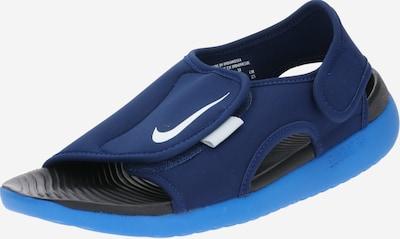 Atviri batai 'SUNRAY ADJUST 5' iš Nike Sportswear , spalva - tamsiai mėlyna / balta, Prekių apžvalga