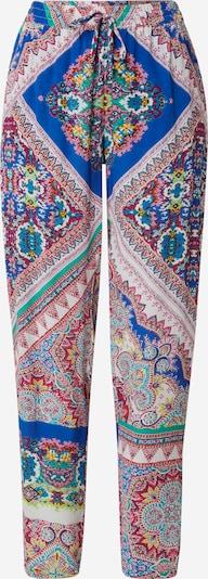 Pantaloni Derhy di colore blu / giallo / giada / rosa / bianco, Visualizzazione prodotti