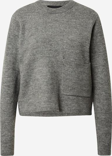 PIECES Pullover 'EAMY' in grau, Produktansicht