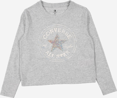 CONVERSE Tričko 'CHUCK' - svetlosivá / biela, Produkt
