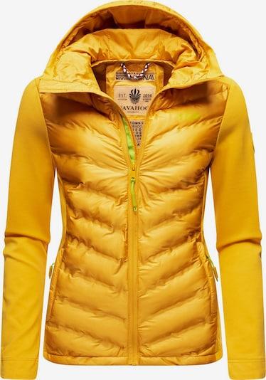 NAVAHOO Outdoorjacke in gelb, Produktansicht