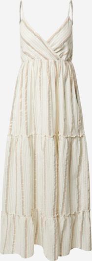 VERO MODA Robe d'été 'SAVANNAH' en beige / bleu pastel / orange / rouge, Vue avec produit