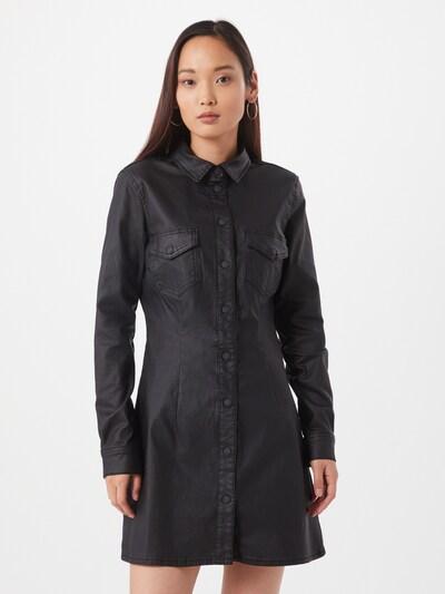Noisy may Blusenkleid 'Lisa' in schwarz, Modelansicht