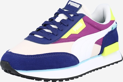 PUMA Sneakers low 'RIDER PLAY ON' in Blue / Yellow / Dark purple / Light pink / White, Item view