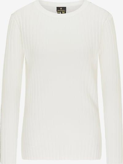 DreiMaster Klassik Pullover in weiß, Produktansicht