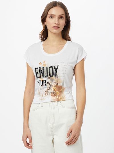 ZABAIONE T-shirt 'Nina' en mélange de couleurs / blanc: Vue de face
